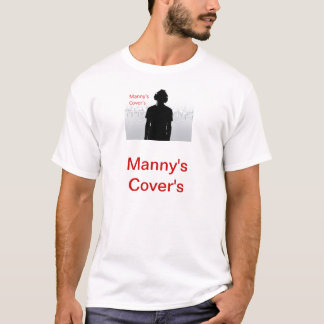 das T-Shirt der Abdeckung der mannys