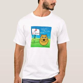 Das T-Shirt der Cartoon-Katzen-Männer