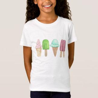 Das T-Shirt der Eistütepopsicle-Kinder