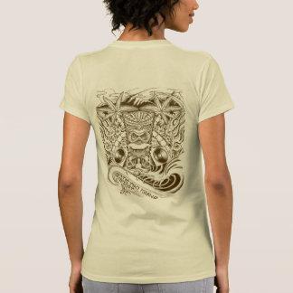 Das T-Shirt der exotischen Tiki