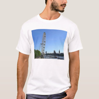 Das T-Shirt der Männer mit London-Augen-Riesenrad