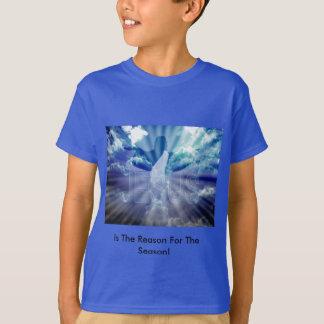 Das T-Shirt des Weihnachtsjungen