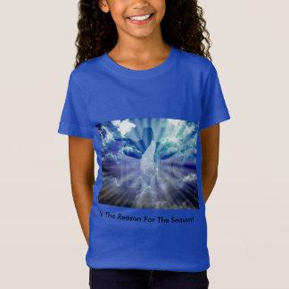 Das T-Shirt des Weihnachtsmädchens