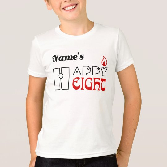 Das T-Shirt HQH des Kindes lustige 8 Jahre