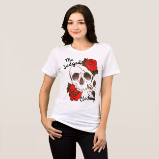 das T-Shirt Rot der rosed thejudged Frauen des