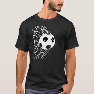 Das T-Stück der Fußball-Ziel-Männer T-Shirt
