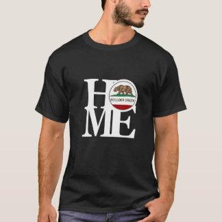 Das T-Stück der ZUHAUSE Boulder-Nebenfluss-Männer T-Shirt