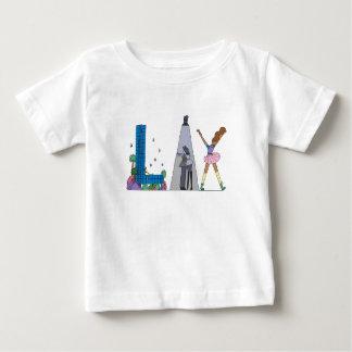 Das T-Stück | LOS ANGELES, CA des Babys (LOCKER) Baby T-shirt