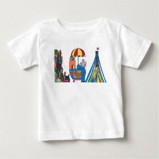 Das T-Stück | NEW YORK, NY (LGA) des Babys Baby T-shirt