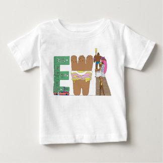 Das T-Stück | NEWARK, NJ (EWR) des Babys Baby T-shirt