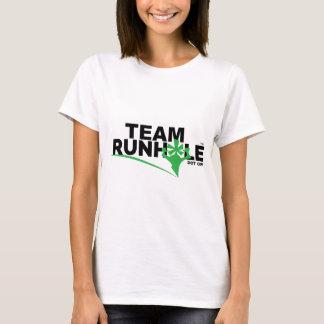 Das T-Stück Runhole Frauen T-Shirt