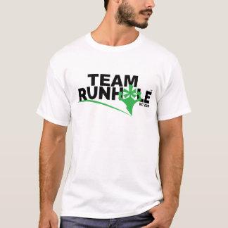 Das T-Stück Runhole Männer T-Shirt