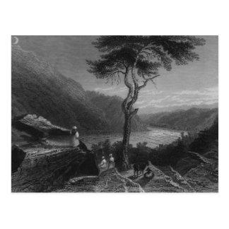Das Tal des Shenandoah, von Jefferson Postkarte