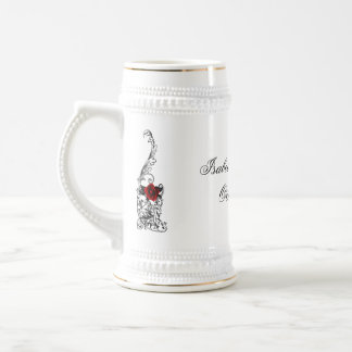 Das Tanz-gotische Hochzeits-Andenken Stein Kaffee Tasse