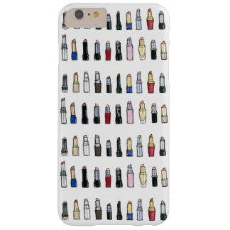 Das Telefon-Kasten des Lippenstift-Liebhabers Barely There iPhone 6 Plus Hülle