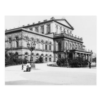 Das Theater in Hannover, c.1910 Postkarte
