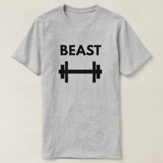 Das Tier der Männer - Workout-Power-Paar T-Shirt