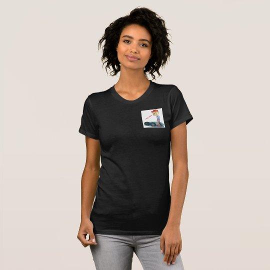Das Tier-Taschen-Flecken-T - Shirt der Oma sexy