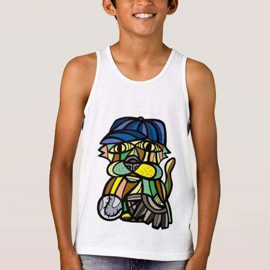 """Das Trägershirt """"Baseballkat-"""" Jungen Tank Top"""