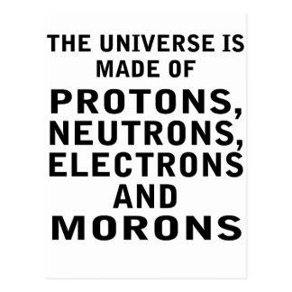 das Universum Postkarte