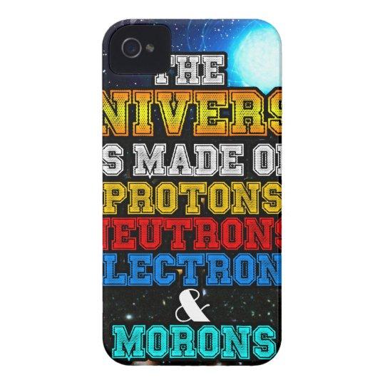 Das Universum wird von den Protonen, Neutronen iPhone 4 Hülle