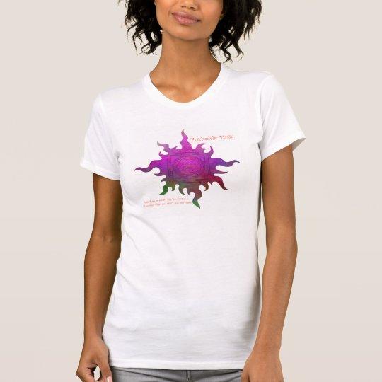 Das ursprüngliche psychedelische Jungfrau-T-Stück T-Shirt