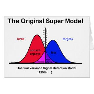 Das ursprüngliche Supermodell Karte