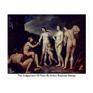 Das Urteil von Paris durch Anton Raphael Mengs Postkarte