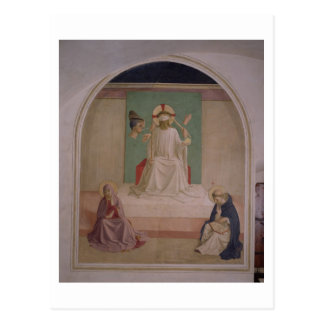 Das Verspotten von Christus mit der Jungfrau und Postkarte