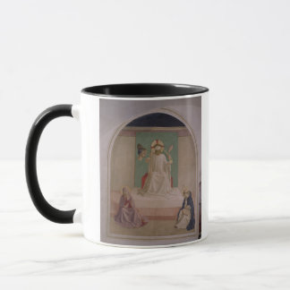 Das Verspotten von Christus mit der Jungfrau und Tasse