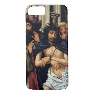 Das Verspotten von Christus (Öl auf Platte) (sehen iPhone 8/7 Hülle