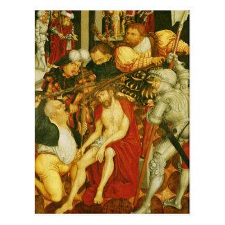 Das Verspotten von Christus Postkarte
