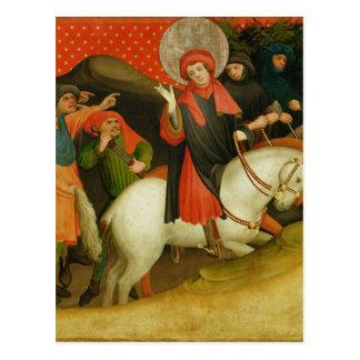 Das Verspotten von St Thomas Postkarte
