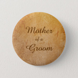 Das Vintage Abzeichen der Mutter des Runder Button 5,7 Cm