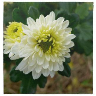 das warme Weiß des Herbstes Serviette
