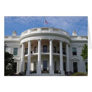 Das Washington DC--Weiße Haus Karte
