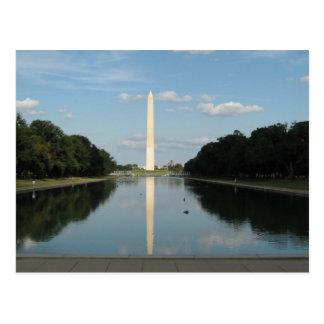 Das Washington-Monument Postkarte