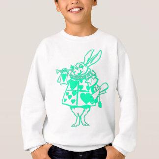 Das weiße Kaninchen Sweatshirt