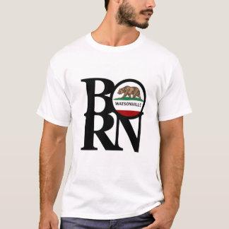 Das weiße T-Shirt GEBORENER Watsonville Männer