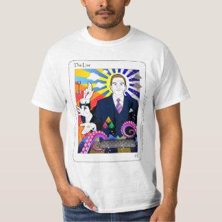 Das weiße T-Stück des Lügner-(TM) T-Shirt