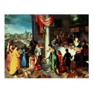 Das Winter-Fest, Ansammlung in dem bayerischen Postkarten