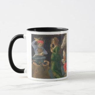 Das Wunder von St. Eligius, Predellaplatte vom Th Tasse