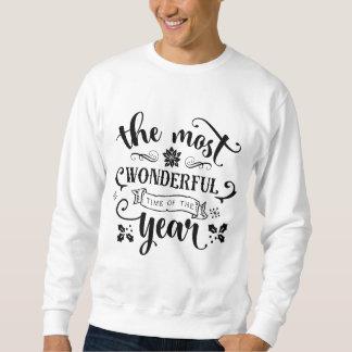 Das wunderbarste Zeit… -   WeihnachtsSweatshirt Sweatshirt