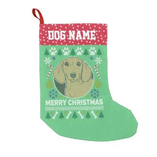 Daschund Hundezucht-hässliche Kleiner Weihnachtsstrumpf