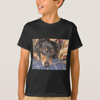 Daschund Weener Hundegesicht T-Shirt