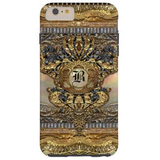 Dashford Paddington elegantes barockes Monogramm Tough iPhone 6 Plus Hülle