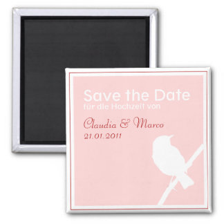 Date aimant save the au mariage türkis rouge
