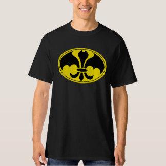 Datman Superhero-Shirt-Schwarzes T-Shirt