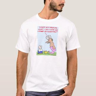 Datum angelina jolie Zuhälter-Geistlampe T-Shirt