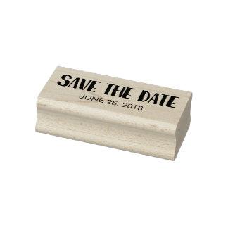 Datum freihalten gummistempel